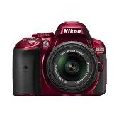 【中古】【1年保証】【美品】 Nikon D5300 18-55mm VR II レンズキット レッド