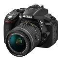 【中古】【1年保証】【美品】Nikon D5300 AF-P 18-55mm VR レンズキット ブラック