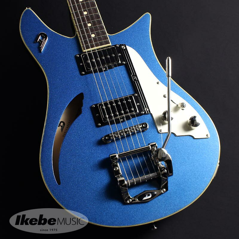ギター, エレキギター Duesenberg DDC-CTB Double Cat (Catalina Blue)