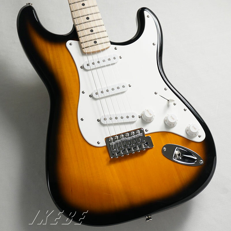 ギター, エレキギター Squier by Fender Affinity Stratocaster(2-Color SunburstMaple Fingerboard)oskpu