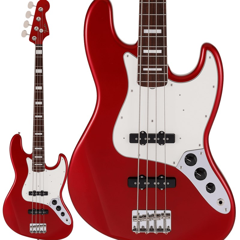 ベース, エレキベース Fender Made in JapanTraditional Late 60s Jazz Bass(Candy Apple Red) 2021 Collectionoskpu