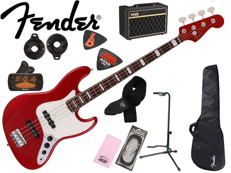 セット, ベースセット  10Fender Made in JapanTraditional Late 60s Jazz Bass(Candy Apple Red) 2021 Collection