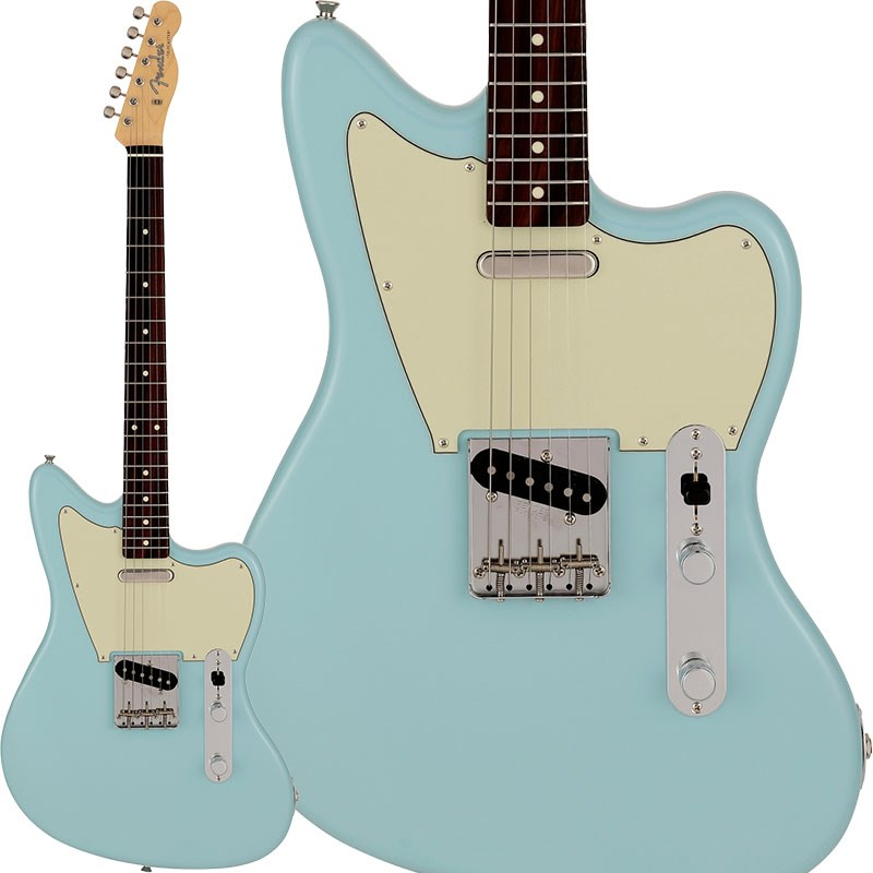 ギター, エレキギター Fender Made in Japan2021 Limited Offset Telecaster (Daphne Blue Rosewood Fingerboard)oskpu