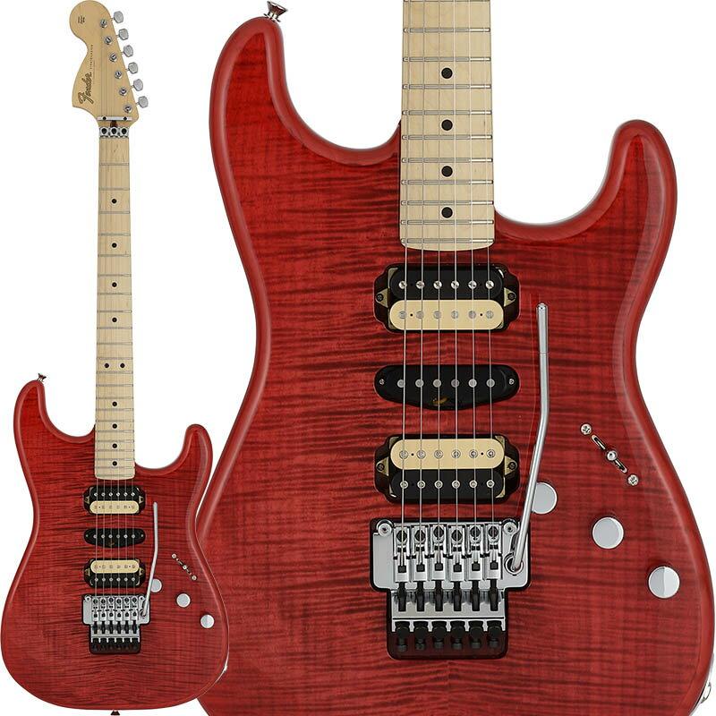 ギター, エレキギター Fender(Made in Japan Hybrid) Michiya Haruhata Stratocaster (Trans Pink)TUBEoskpu
