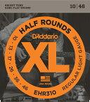 D'Addario 《ダダリオ》《ダダリオ》EHR310 XL Half Rounds[ハーフラウンド] Regular Light