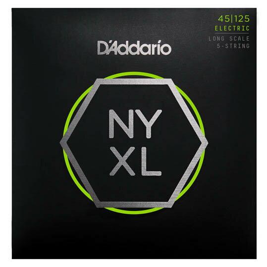 ベース用アクセサリー・パーツ, 弦 DAddario NYXL Series 5-Strings Electric Bass Strings NYXL45125