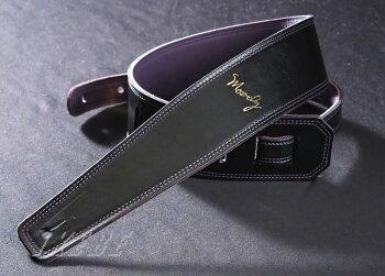 """MoodyLeather-Leather2.5""""std[Black-Purple]"""