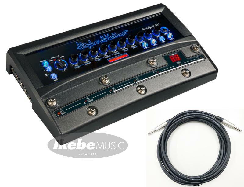 ギター用アクセサリー・パーツ, アンプ HughesKettnerBLACK SPIRIT 200 FLOOR HUK-SPC7m Set