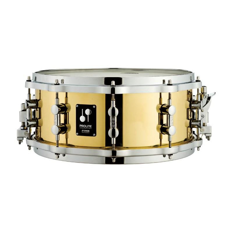 ドラム, スネア SONOR PL-1406SDBD PROLITE Series Brass 146 Die-Cast Hoop