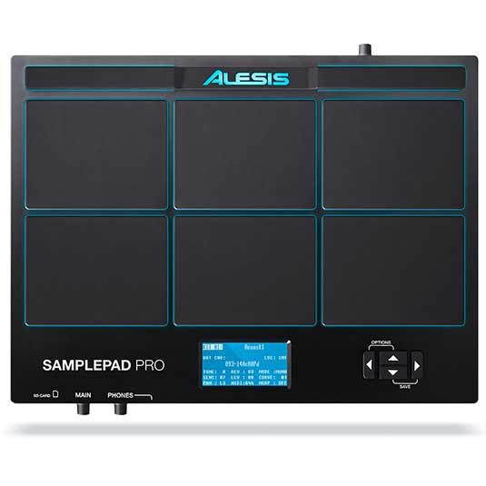 ドラム, 電子ドラム ALESIS SamplePad Pro 8-Pad Percussion and Sample-Triggering Instrument