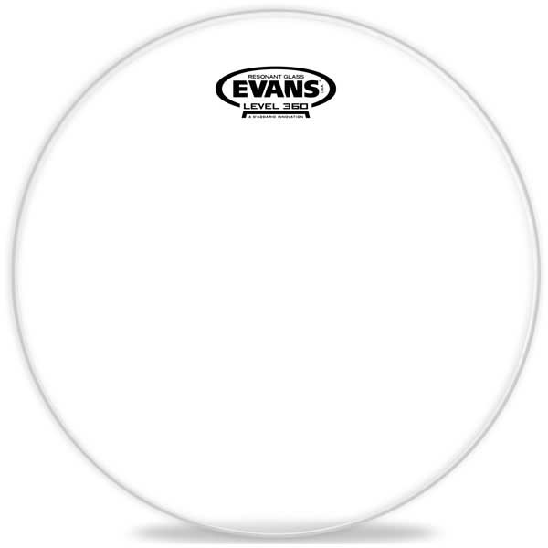 ドラム, ドラムヘッド EVANSTT18RGLResonant Glass 186.5mil