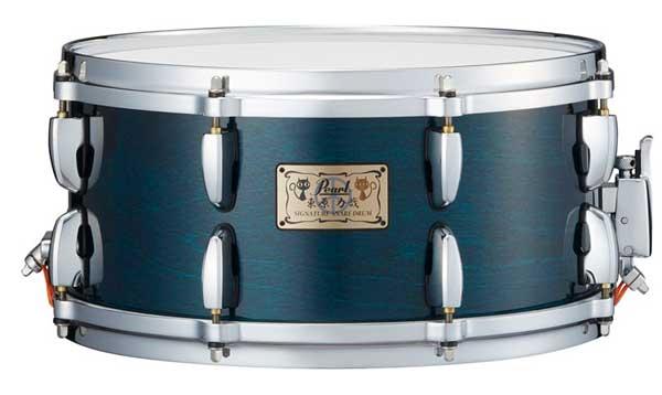 ドラム, スネア Pearl RHB1465SDC 125 Teal Blue Model Limited Edition ROCK