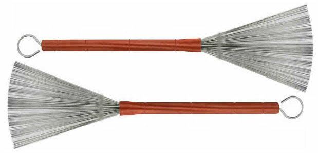 ドラム, スティック Brush Fire BC-12Classics Heavy Gauge Wire Brush Buddy RichGene Krupa