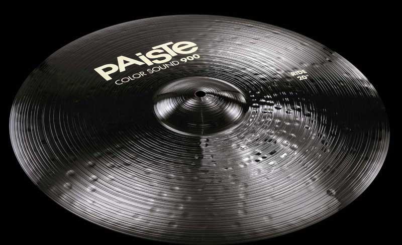 ドラム, ライドシンバル PAiSTe Color Sound 900 Black Ride 20