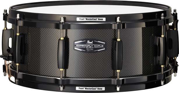 ドラム, スネア Pearl CMN1455SB 300 Carbonply Maple 14 x 5.5