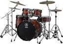 YAMAHA 《ヤマハ》 LIVE CUSTOM 4pc Drum Set (Bass Drum 深さ18インチ)[LNP6F3AWS + LNB2218AWS] 【BD22、FT16、TT12&10/アンバー…