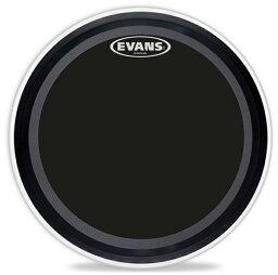 "EVANS/バスドラムヘッド《エバンス》 BD22EMADONX [EMAD Onyx 22""/ Bass Drum]【1ply , 10mil】【お取り寄せ品】"