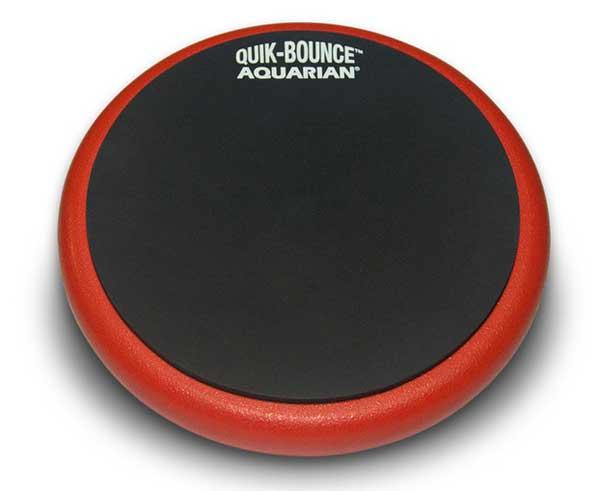 ドラム, トレーニングパッド AQUARIAN AQP6 Quik-Bounce 6 Practice Pad