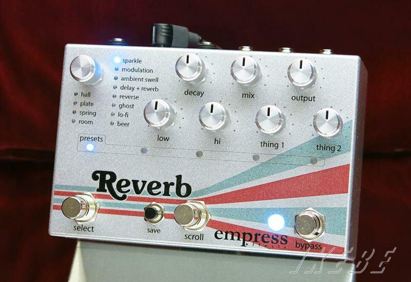 ギター用アクセサリー・パーツ, エフェクター empress Reverb High-Quality Stereo Reverb