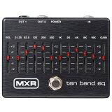 MXR M108SE TEN BAND EQ Limited Ebony 【あす楽対応】