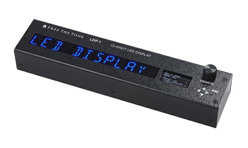 ギター用アクセサリー・パーツ, エフェクター Free The Tone LDP-112-DIGIT LED DISPLAY