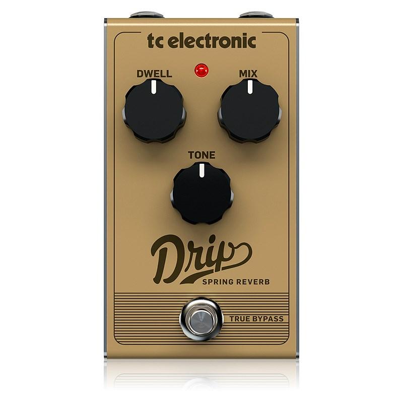 ギター用アクセサリー・パーツ, エフェクター t.c.electronic tcDRIP SPRING REVERB LZ