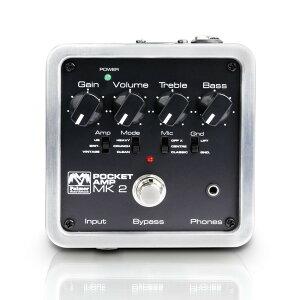 小型アンプシュミレーター「Poket Amp」のMARK2 がデビュー!!PalmerPOCKET AMP MK2