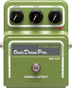ギター用アクセサリー・パーツ, エフェクター MAXON OD820 (Overdrive Pro)