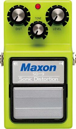 ギター用アクセサリー・パーツ, エフェクター MAXON SD-9 (Sonic Distortion)