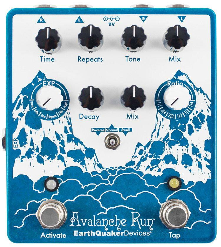 ギター用アクセサリー・パーツ, エフェクター Earth Quaker Devices Avalanche Run V2 Stereo Delay Reverb