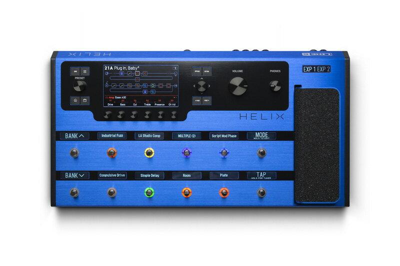 ギター用アクセサリー・パーツ, エフェクター LINE6 6Helix Floor Lightning Blue oskpu