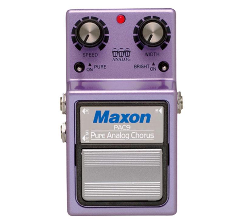 ギター用アクセサリー・パーツ, エフェクター MAXON PAC9(Pure Analog Chorus)