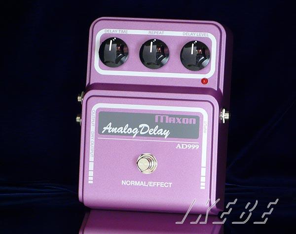 ギター用アクセサリー・パーツ, エフェクター MAXON AD999 (Analog Delay)