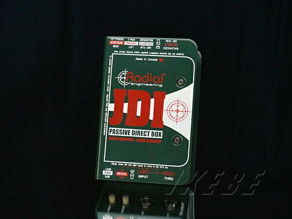 DAW・DTM・レコーダー, ダイレクトボックス Radial JDI