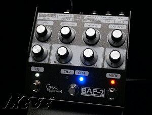 クルーズマニアックサウンドの拘りを盛り込んだベース用プリアンプCrews Maniac Sound BAP-2 [B...