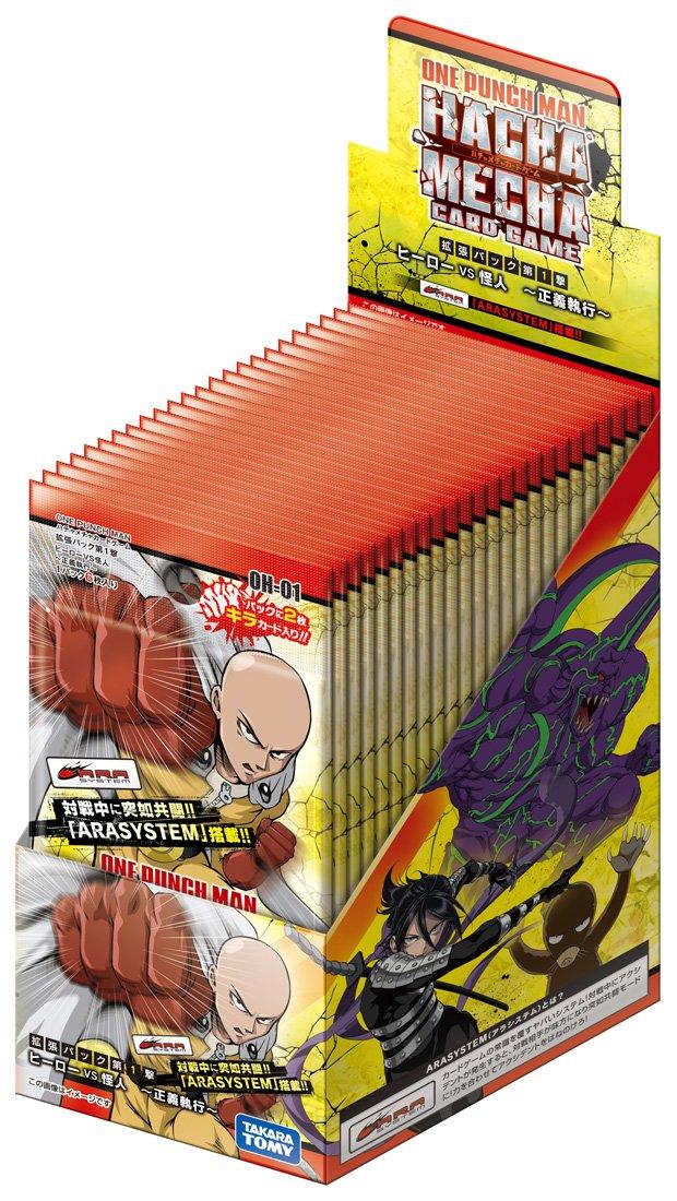 トレーディングカード・テレカ, トレーディングカード  OH-01 ONE PUNCH MAN 1 VS DSP-BOX