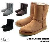 アグ オーストラリア メンズ クラシック ショート UGG Australia MENS CLASSIC SHORT 5800 BLK GRY CHE CHO メンズ ムートンブーツ シープスキン