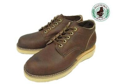 ハソーン オックスフォード ブラウン レザー メンズ ブーツ Hathorn Oxford Rainier 204NWC Brown Leather MADE IN USA
