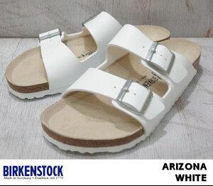 ビルケンシュトック アリゾナ メンズ レディース サンダル ホワイト BIRKENSTOCK …