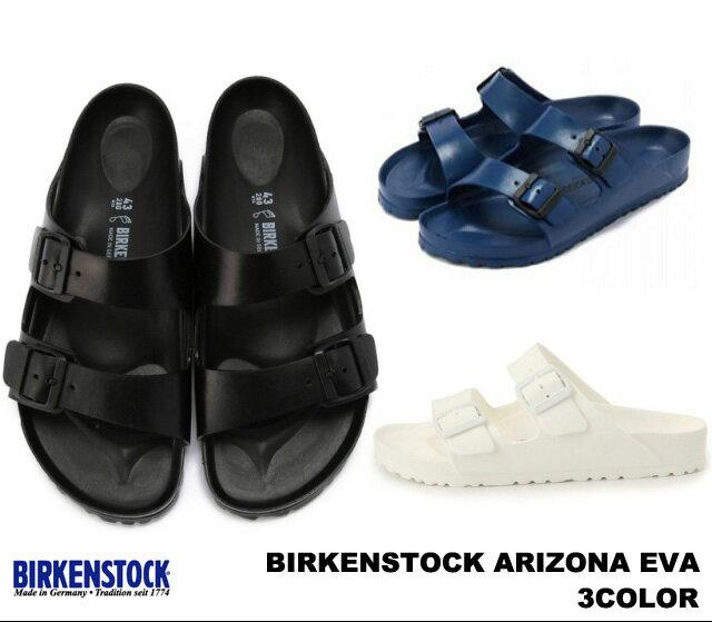 サンダル, コンフォートサンダル  EVA BIRKENSTOCK Arizona EVA 129421BLACK 129431NAVY 129441WHITE
