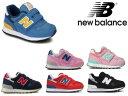 ニューバランス ベビー キッズ ジュニア 313 new balance IO 313 NV PK BW RN BY PP ネイビー ピンク 子供靴 スニーカー