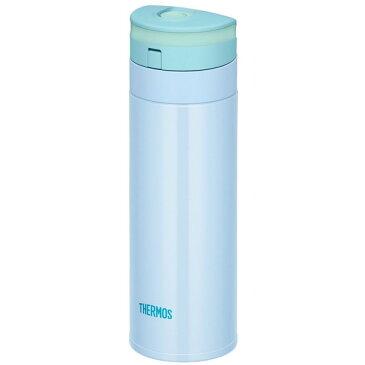 サーモス 水筒 350ml 真空断熱ケータイマグ 保温 保冷 魔法びん構造 スリム おでかけ アウトドア 旅行 軽量 通勤 通学 丸洗い 便利 丈夫 おしゃれ かわいい THERMOS JNS-350BL 0.35L ブルー