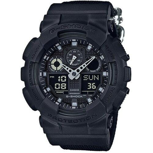 CASIOGA-100BBN-1AJFブラックG-SHOCKMilitaryBlack[腕時計(クオーツ・メンズ)]
