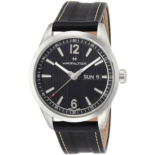 HAMILTONH43311735ブラックブロードウェイデイデイト[クオーツ腕時計(メンズ)]