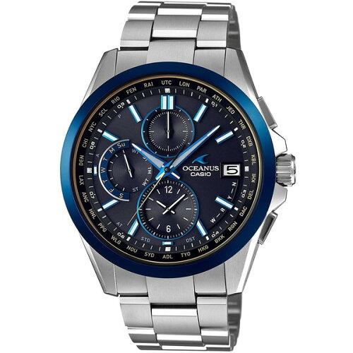 CASIO(カシオ)OCW-T2600G-1AJFブラックマーブルオシアナス[ソーラー電波腕時計(メンズウオッチ)]