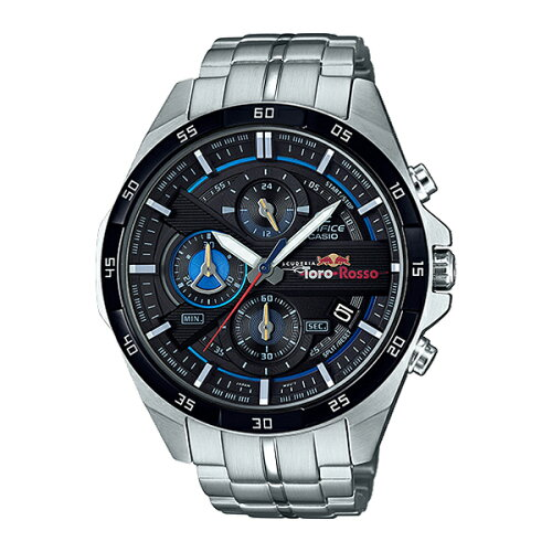 CASIOEFR-556TR-1AJRエディフィススクーデリア・トロ・ロッソ・リミテッドエディション[腕時計(クォーツ・メンズ)]