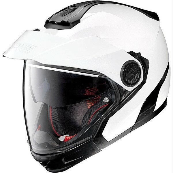 デイトナ D95883 メタルホワイト NOLAN(ノーラン) [フルフェイスヘルメット(Mサイズ)]
