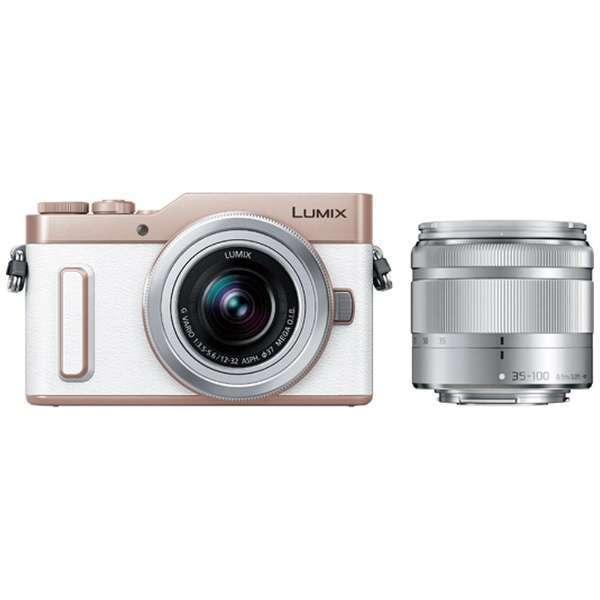 デジタルカメラ, ミラーレス一眼カメラ PANASONIC DC-GF10WA-W LUMIX DC-GF10 ()