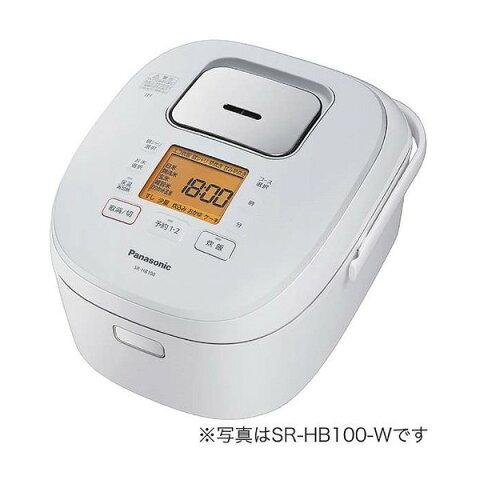 PANASONIC SR-HB180-W ホワイト [IHジャー炊飯器(1升炊き)]