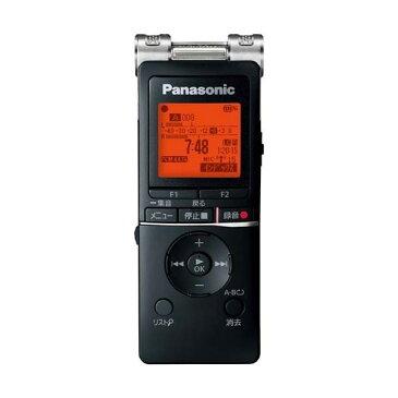 【送料無料】PANASONIC RR-XS470-K ブラック [ワイドFM対応 ICレコーダー (8GB)]